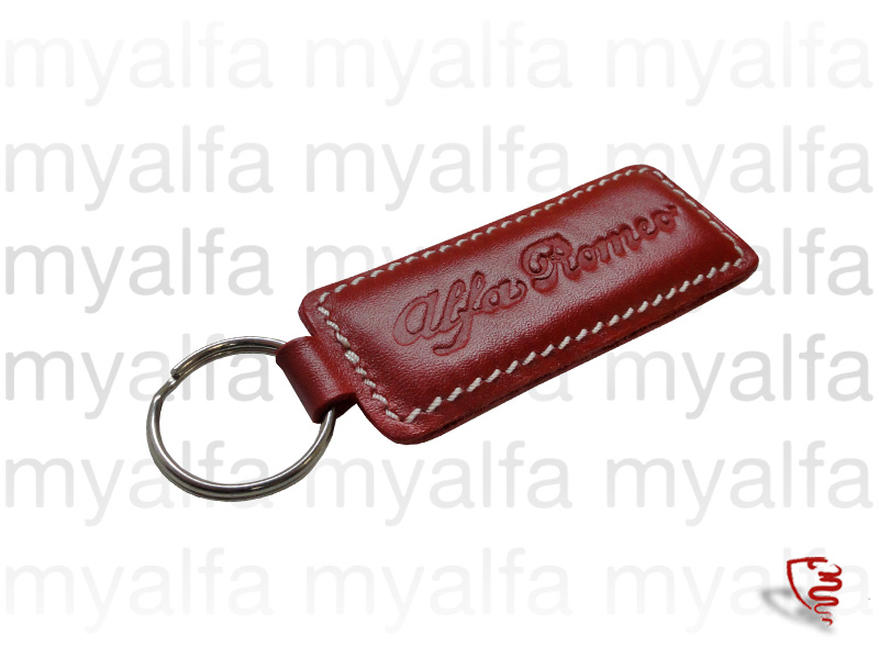 Keychains Leather for Alfa Romeo, Accessories, Key rings