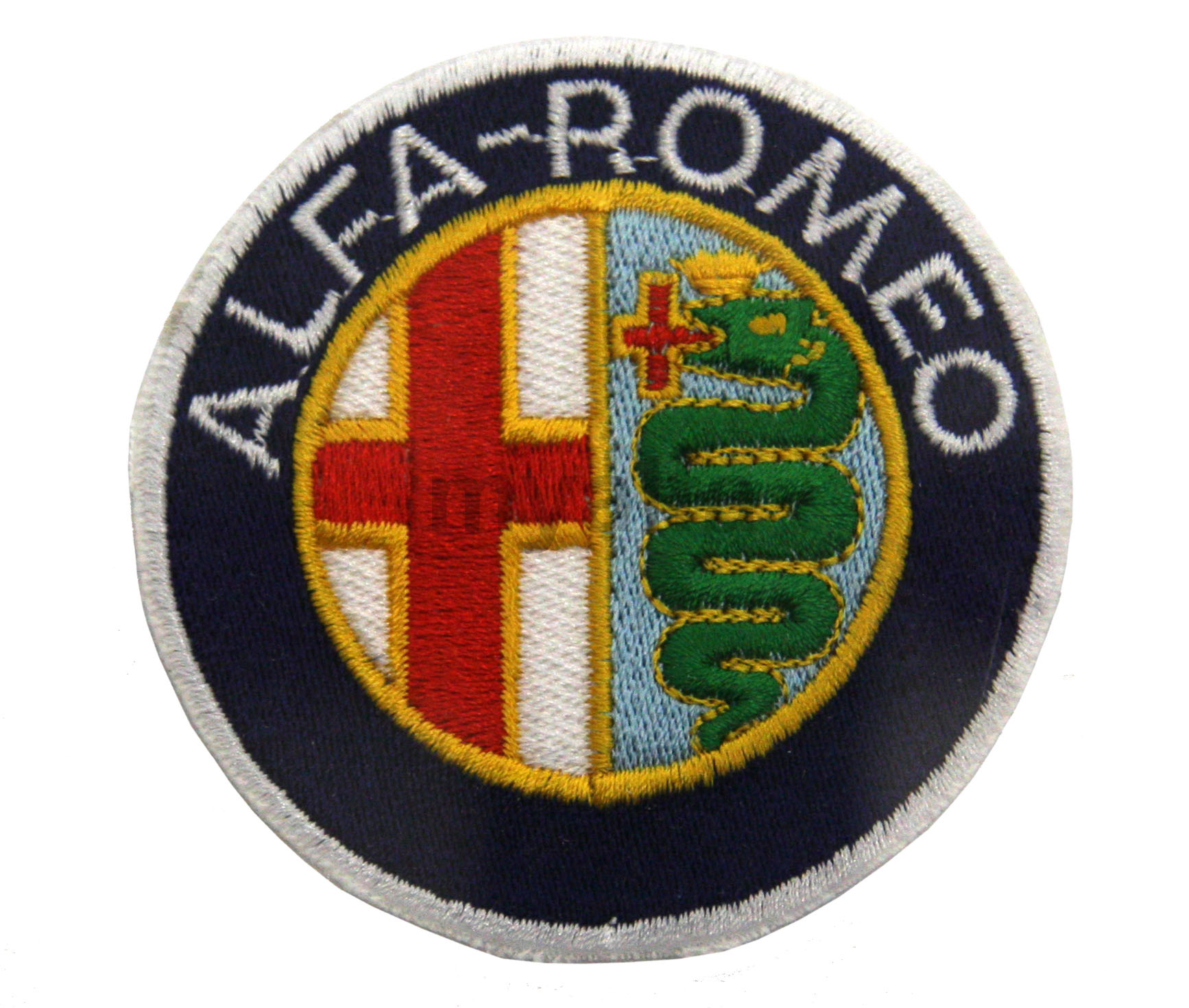 Embroidery badge Alfa Romeo for Alfa Romeo, Accessories, Embroidered patches
