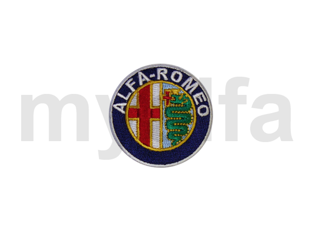 Emblem symbol Alfa Romeo embroidery for Alfa Romeo, Accessories, Embroidered patches