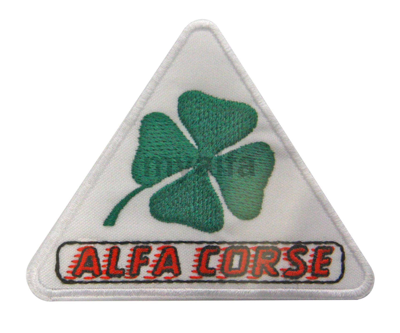 Embelema AlfaCorse Embroidery for Alfa Romeo, Accessories, Embroidered patches