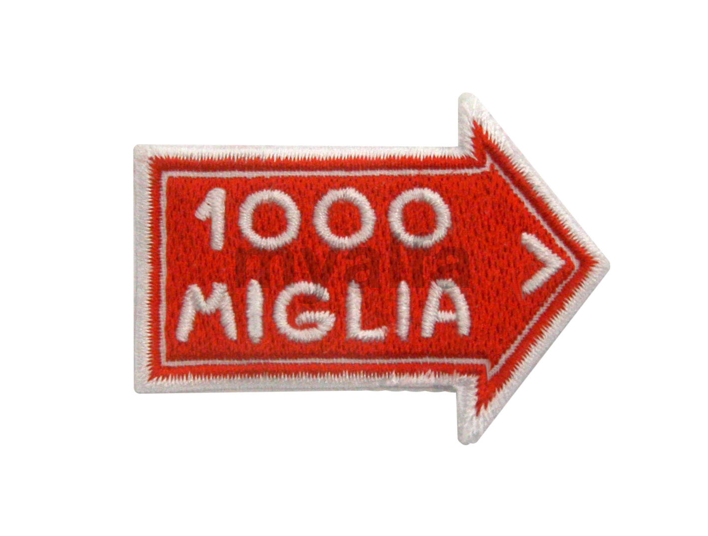 Embroidery badge Mille Miglia for Alfa Romeo, Accessories, Embroidered patches
