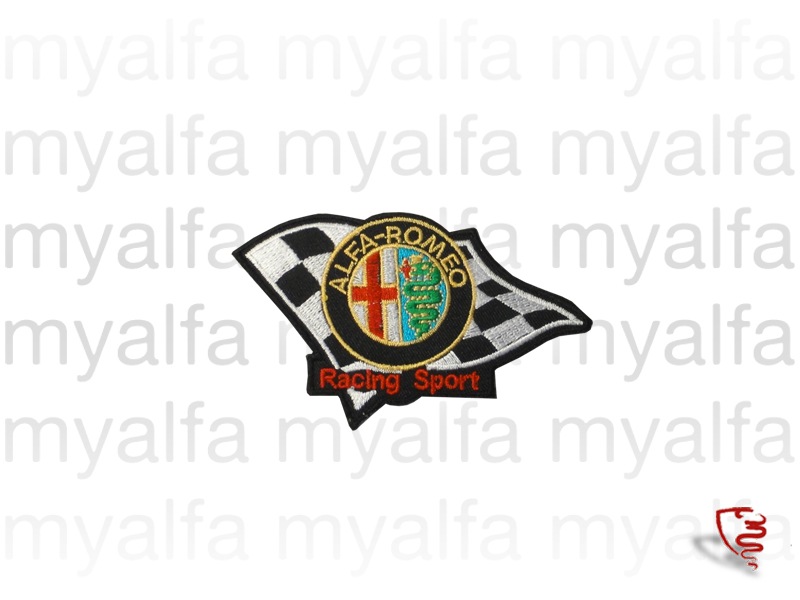 Embelema Alfa Romeo RacingSport Embroidery for Alfa Romeo, Accessories, Embroidered patches